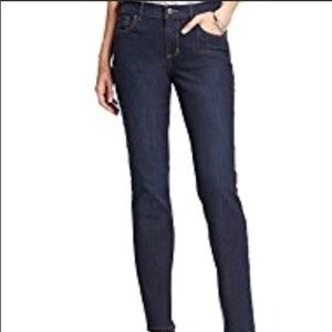 Banana Republic Dark Blue Wash Stretch Skinny Jean